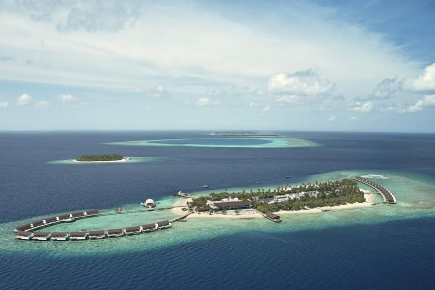 Westin Maldives Miriandhoo Resort : une architecture luxueuse et durable